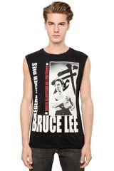 Philipp Plein Cotton Bruce Lee Legend Tank Top - Lyst