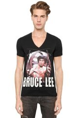Philipp Plein Cotton Bruce Lee T-shirt - Lyst