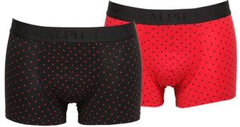 Ralph Lauren Blue Label 2 Pack Polka Dot Cotton Boxer Briefs - Lyst