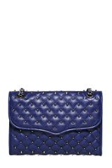 Rebecca Minkoff Quilted Affair with Studs Leather Bag - Lyst