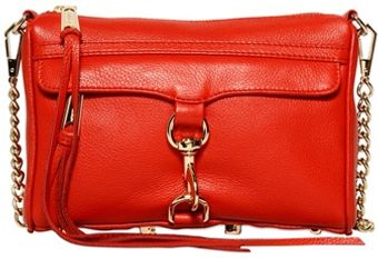 Rebecca Minkoff Mini Mac Matte Leather Shoulder Bag - Lyst