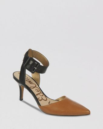 Sam Edelman Pointed Toe Pumps Okala High Heel - Lyst