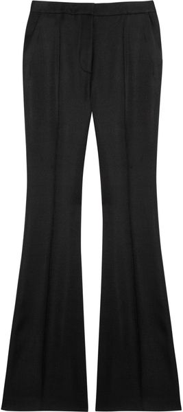 Stella McCartney Carlton Highrise Woven Flared Pants - Lyst