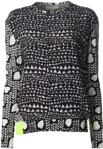 Stella McCartney Printed Pullover Sweater - Lyst