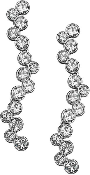 Swarovski Fidelity Crystallized Pendant Earrings - Lyst