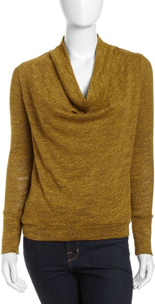 Three Dots Cowl Neck Sweater - Lyst