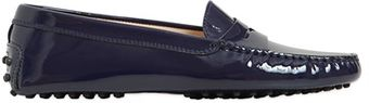 Tod's Patent Leather Gommino Loafers - Lyst