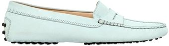 Tod's Gommino Nubuck Loafers - Lyst