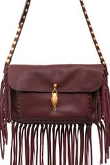 Valentino Scarab Leather Shoulder Bag - Lyst