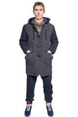 White Mountaineering Handmade Windstopper Quilted Coat - Lyst