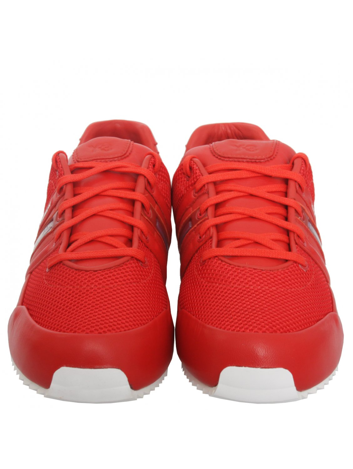 8d81de50292f Y-3 Sprint Trainers Red in Red for Men - Lyst