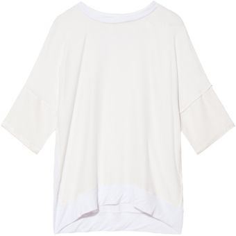 10 Crosby by Derek Lam Jersey Crew Top - Lyst