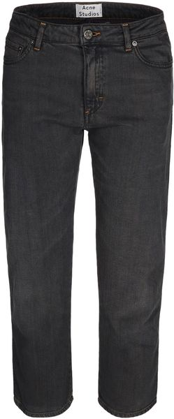 Acne Denim Capris - Lyst
