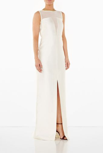 Raoul White Maxi Dress - Lyst