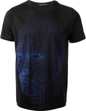 Christopher Kane Head Scan T-shirt - Lyst