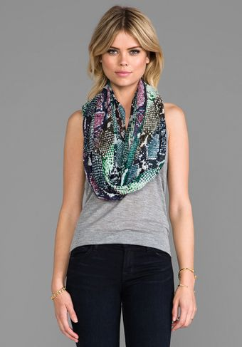 Diane Von Furstenberg Washed Chiffon Scarf in Purple - Lyst