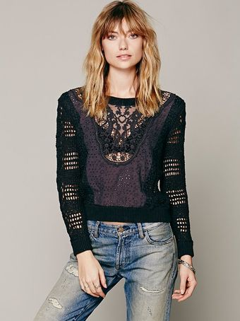 Free People Waitin On The Day Pullover - Lyst