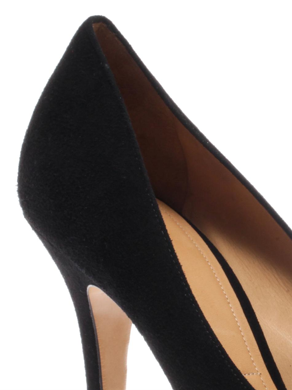 55384a57b9c Lyst - Isabel Marant Poppy Suede Pumps in Black