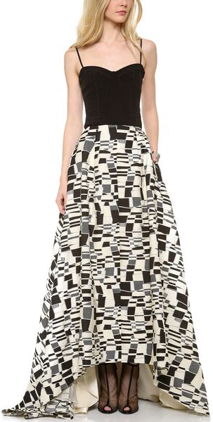 Lela Rose Ball Skirt - Lyst