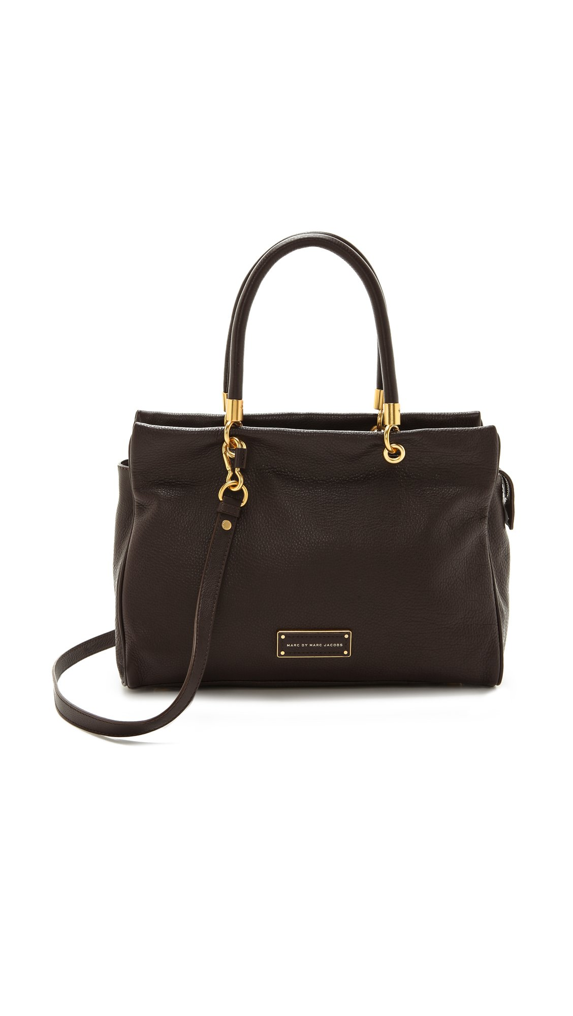 marc by marc jacobs too hot to handle tote in brown lyst. Black Bedroom Furniture Sets. Home Design Ideas