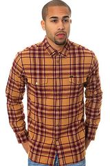 Obey The Drifter Buttondown - Lyst