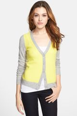 Only Mine Mixed Texture Cashmere Cardigan - Lyst