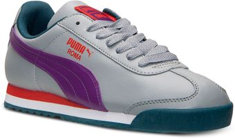 Puma Womens Roma Basic Casual Sneakers From Finish Line - Lyst