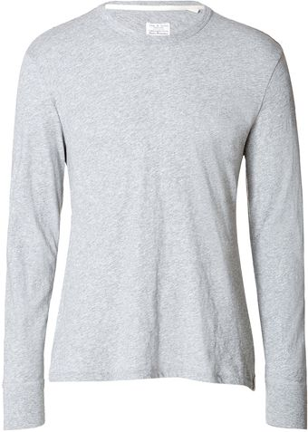 Rag & Bone Cotton Tshirt - Lyst