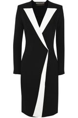 Roland Mouret Auriga Crepe Wrap Dress - Lyst