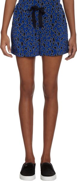 Sea Leopard Print Shorts - Lyst