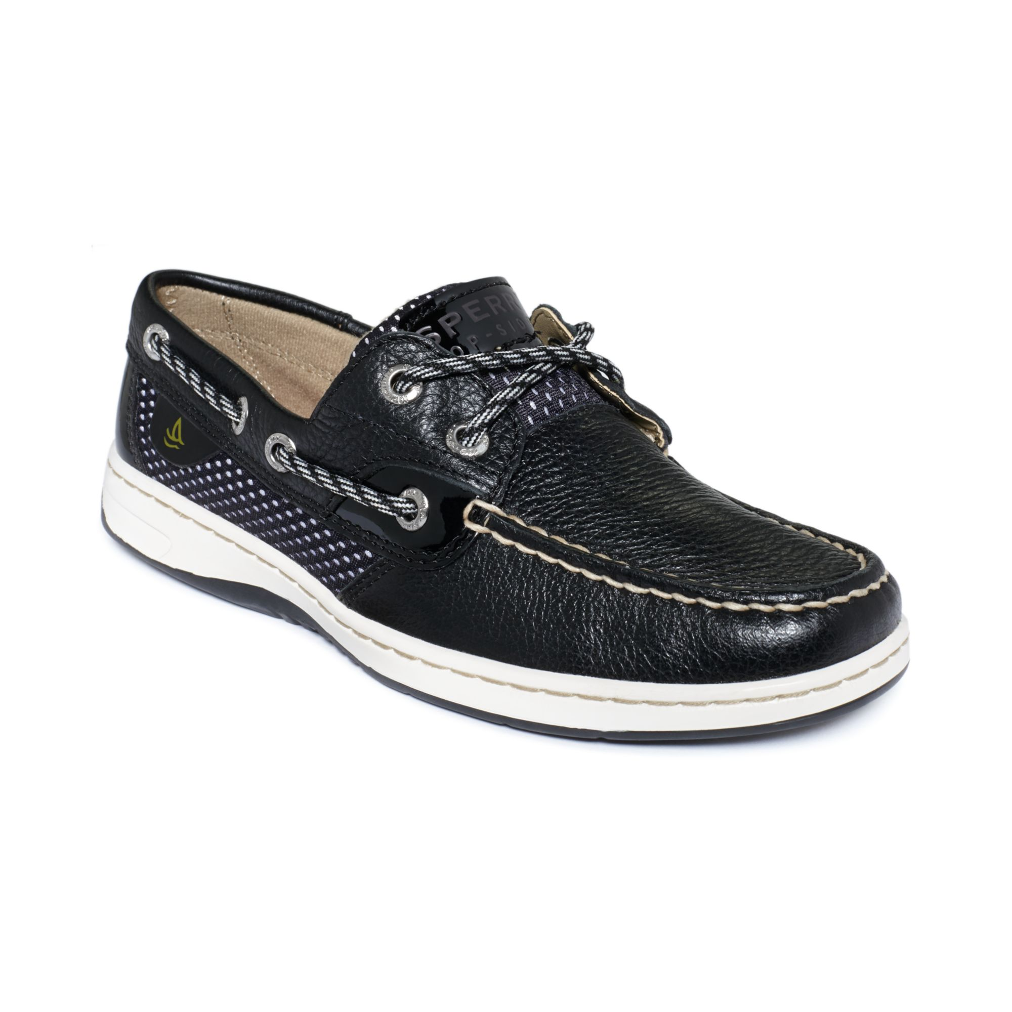 Sperry Top-sider Sperry Women S Bluefish Boat Shoes in Black (Black