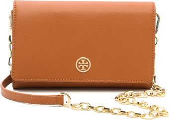 Tory Burch Robinson Wallet On A Chain - Lyst