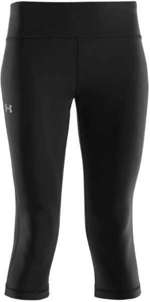 Under Armour Ladies Authentic Capris - Lyst