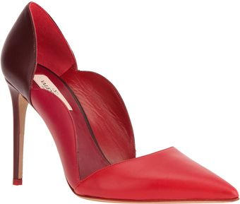 Valentino Scalloped Pump - Lyst