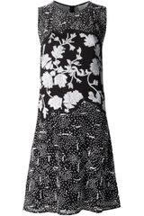 3.1 Phillip Lim Floral Sequin Dress - Lyst