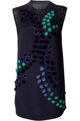 3.1 Phillip Lim Dandelion Embellished Dress - Lyst