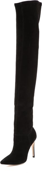 Alice + Olivia Alice Olivia Dae Stretch Over The Knee Boots - Lyst