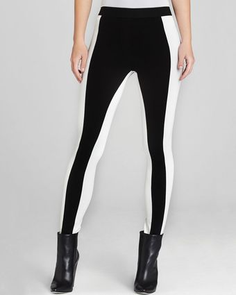 BCBGMAXAZRIA Leggings Sasha Color Block - Lyst