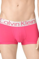 Calvin Klein Steel Micro Low Rise Trunks - Lyst