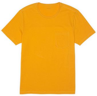 Club Monaco Short Sleeved Pocket Crew - Lyst
