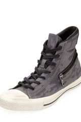 Converse Hiddenzipper Camoprint Hightop Sneaker - Lyst