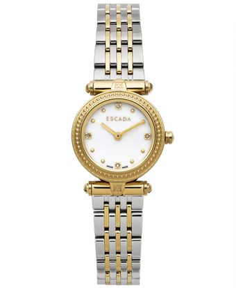 Escada Womens Swiss Vanessa Diamond Accent Twotone Stainless Steel Bracelet Watch 25mm Iww - Lyst