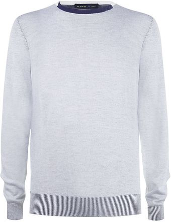 Etro Double-faced Sweater - Lyst