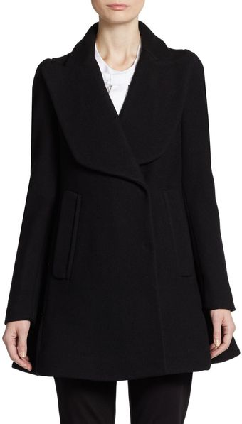 Jill Stuart Flared Wool Jacket - Lyst