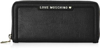 Love Moschino Classic Long Zip Wallet - Lyst