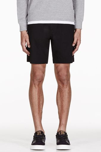 Marc By Marc Jacobs Black Whitby Denim Shorts - Lyst