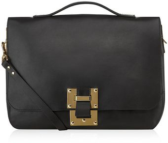 Sophie Hulme Soft Leather Satchel - Lyst