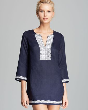 Tory Burch Skye Cover Up Tunic - Lyst