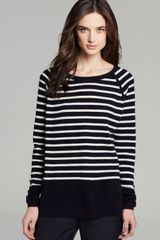 Vince Sweater Color Block Breton Stripe Cashmere - Lyst