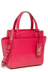 Diane Von Furstenberg On The Go Mini Leather Tote - Lyst